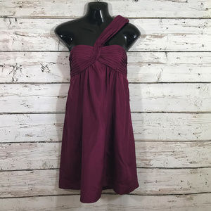 BCBG Merlot Strapless Dress NWT.